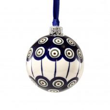 Christmas ball 7cm Peacock™