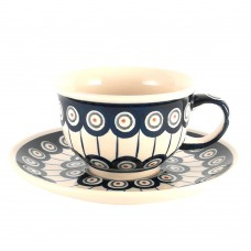 Cup & Saucer 0.2l Peacock™