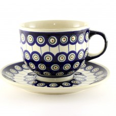 Cup & Saucer 0.5l Peacock™