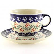 Cup & Saucer 0.5l Rowan berry™