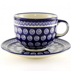 Cup & Saucer 0.5l Spiral™